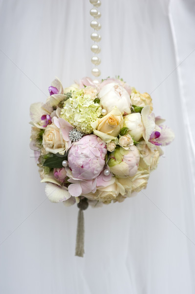Sferico fiori primavera wedding rose Foto d'archivio © leeavison