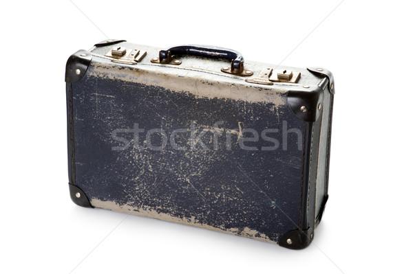 well worn vintage suitcase Stock photo © leeavison