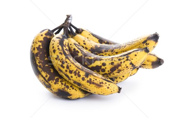 overripe banana bunch Stock photo © leeavison