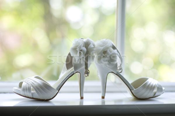 wedding shoes Stock photo © leeavison