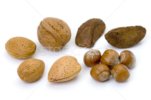 mixed whole nuts  Stock photo © leeavison