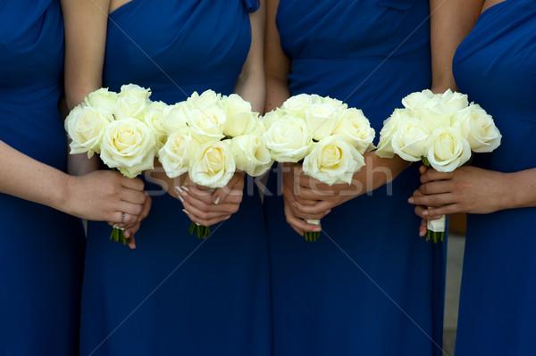 Букет на руку для подружек невесты своими руками 128