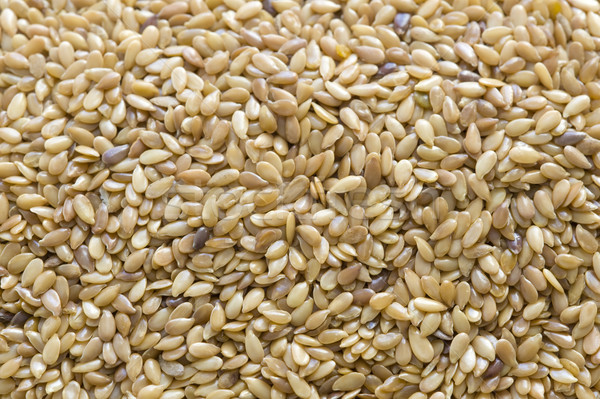 linseed or flaxseed full frame Stock photo © leeavison