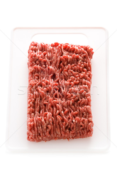 ground beef Stock photo © leeavison