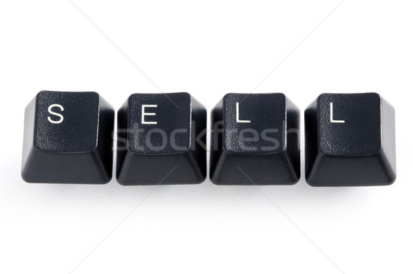 sell internet trading Stock photo © leeavison