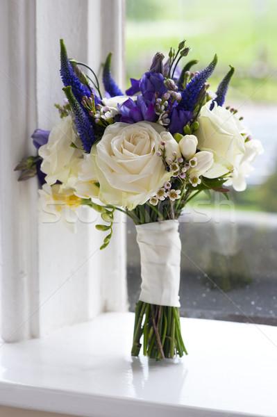 wedding bouquet window Stock photo © leeavison