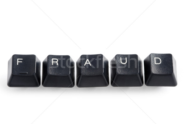 On-line internet computador fraude teclas ortografia Foto stock © leeavison