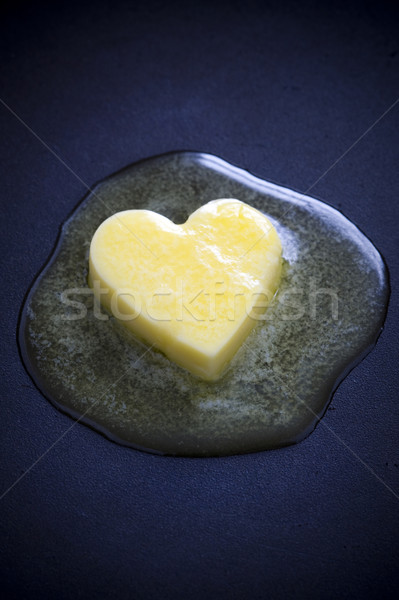 butter heart melting Stock photo © leeavison