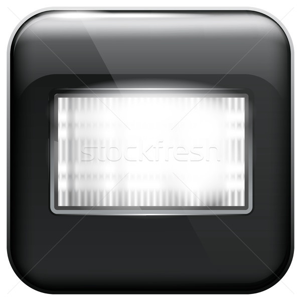 App Icon with Flash Light Stock photo © leedsn