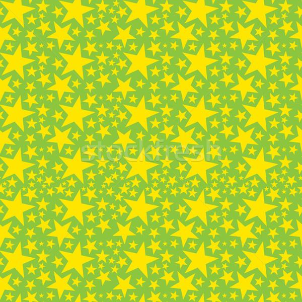 Vektor végtelenített szalvéta csillagok Stock fotó © leedsn