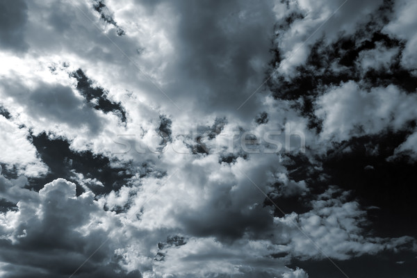 Vihar égbolt gyönyörű felhők apokalipszis természet Stock fotó © leedsn