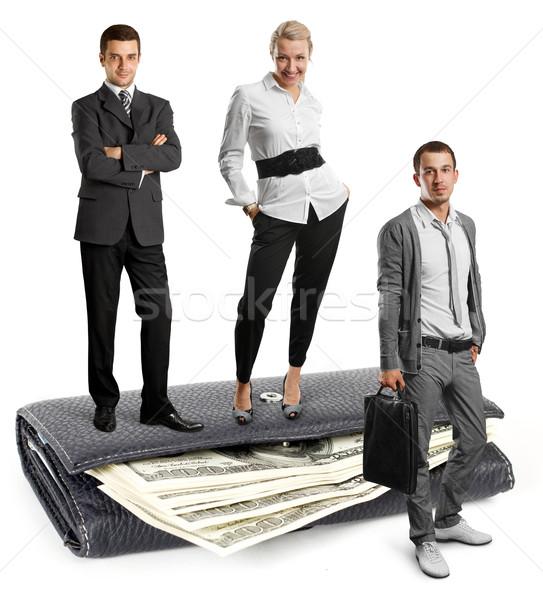 People and USA Dollars Stock photo © leedsn
