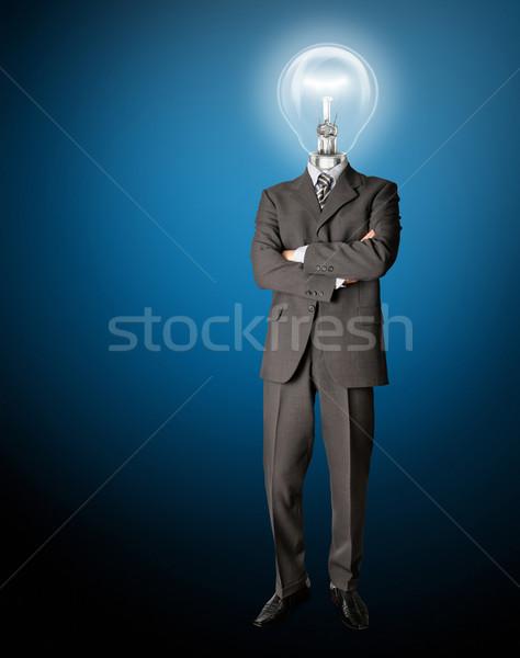 Сток-фото: бизнесмен · Идея · обувь · учитель · информации · галстук