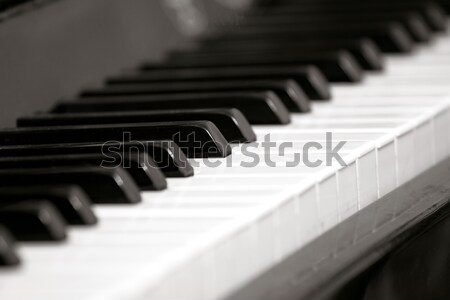 Piano Key Board Stock photo © leedsn