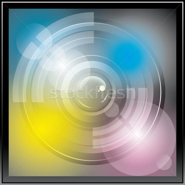 Icona vettore app sfondo arte Foto d'archivio © leedsn