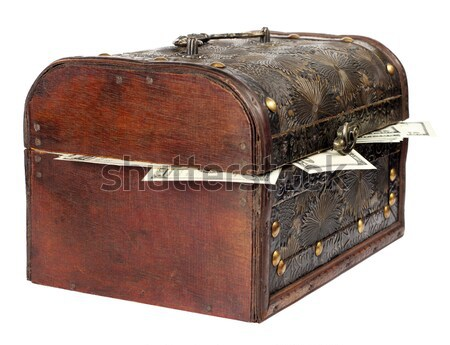 old chest Stock photo © leedsn