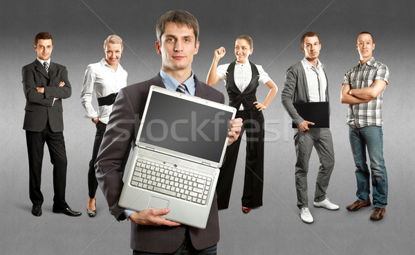 Business Team Stock photo © leedsn