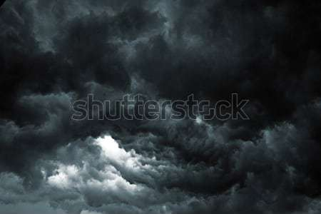 Storm небе красивой облака Апокалипсис подобно Сток-фото © leedsn
