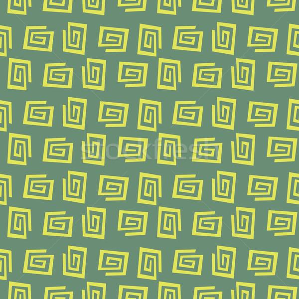 Szalvéta vektor végtelenített absztrakt minta Stock fotó © leedsn