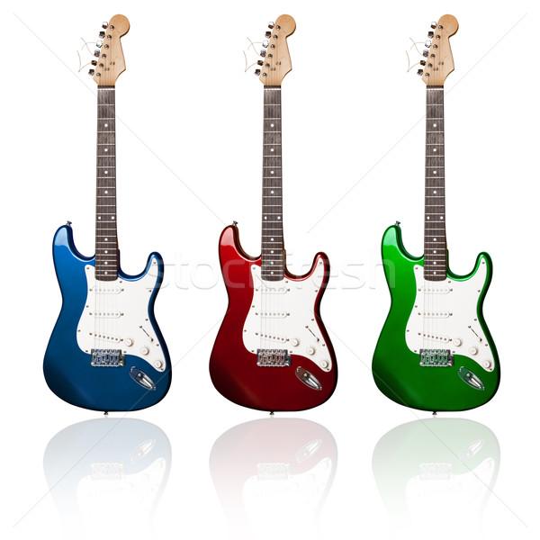 electric guitars Stock photo © leedsn