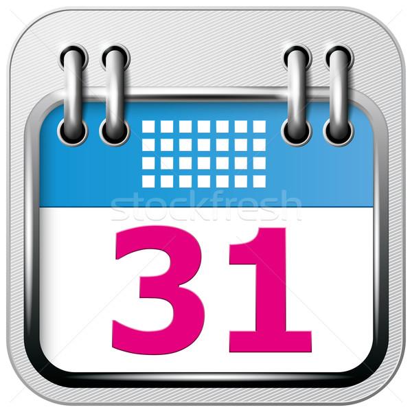 App Icon Calendar Stock photo © leedsn