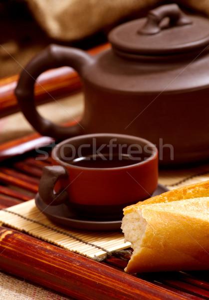 Still Life With Tea Stock photo © leedsn