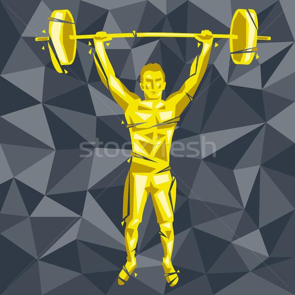 CrossFit-13 [Converted] Stock photo © leedsn