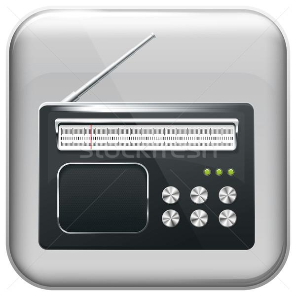 Radio Stock photo © leedsn