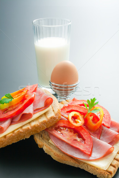Stock photo: Breakfast