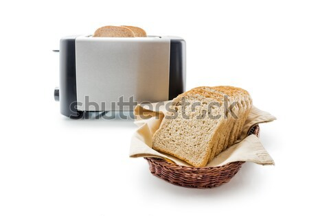 Toast bread and toaster Stock photo © Leftleg