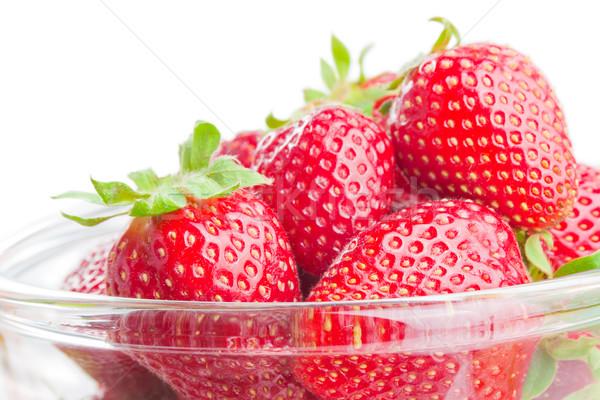 Strawberries Stock photo © Leftleg