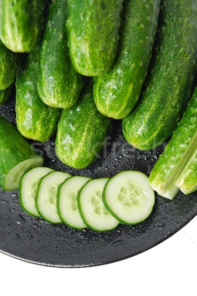 Cucumbers Stock photo © Leftleg