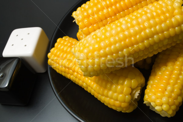 Stock photo: 	 Corn cobs