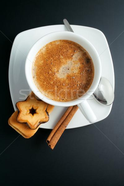 Café branco copo topo Foto stock © Leftleg