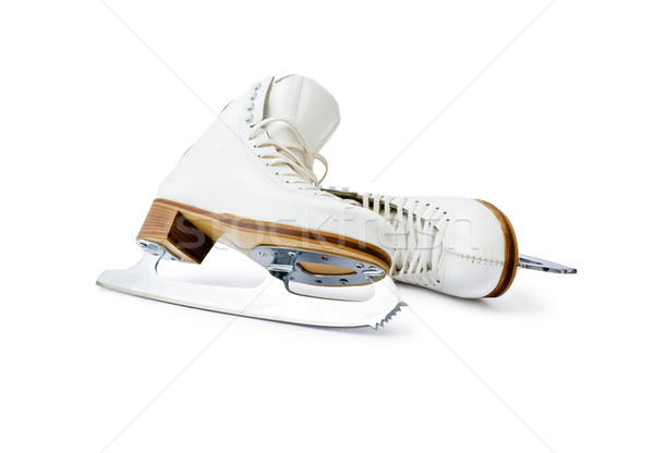 Figure ice skates Stock photo © Leftleg