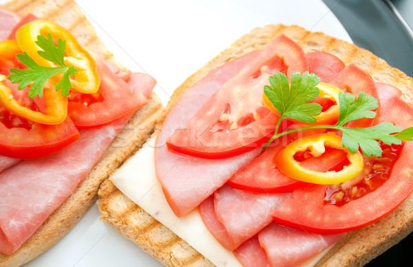 Sandwiches Stock photo © Leftleg