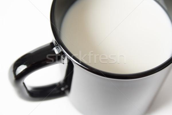 Cup of milk Stock photo © Leftleg