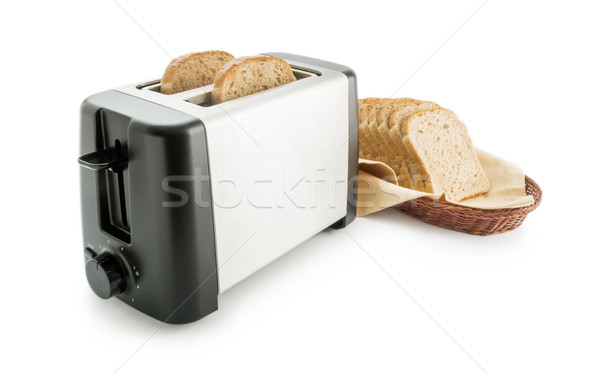 Toaster brood elektrische toast Stockfoto © Leftleg