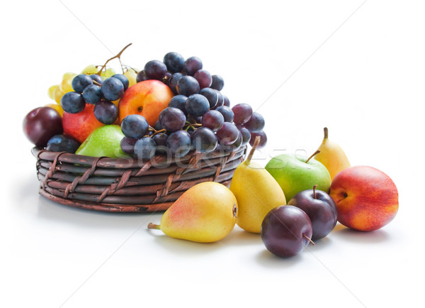 Früchte unterschiedlich frischen voll legen Stock foto © Leftleg