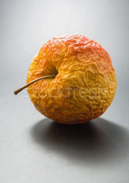 öreg alma egész ráncos közelkép semleges Stock fotó © Leftleg