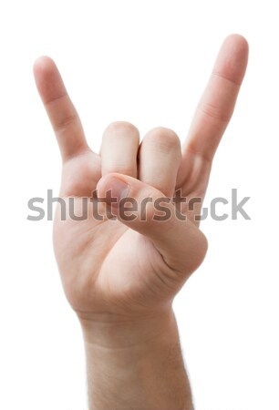 Stock photo: 	Rock on