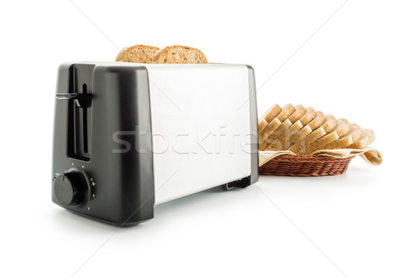 Toaster with bread slices Stock photo © Leftleg