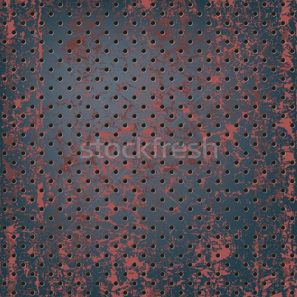 Foto d'archivio: Texture · arrugginito · metal · costruzione · tecnologia