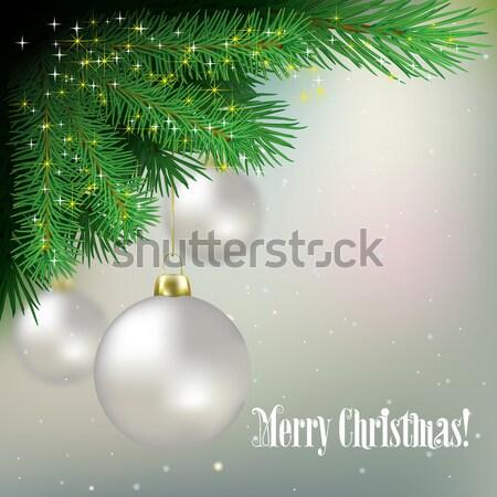 Navidad azul ordenador naturaleza Foto stock © lem