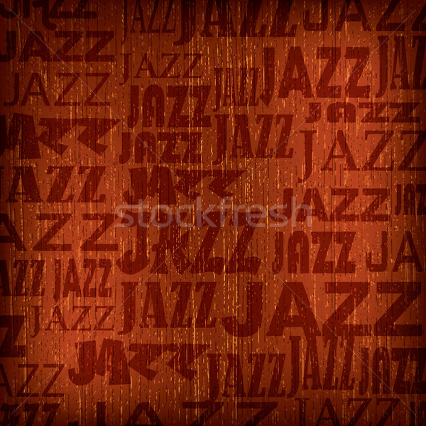 abstract background with word jazz Stock photo © lem
