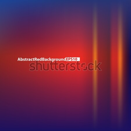Abstract background with red light Stock photo © lem