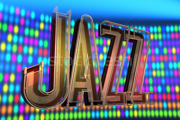 abstract jazz background Stock photo © lem