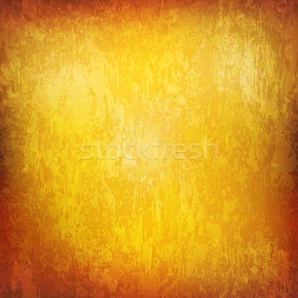 Soyut doku paslı Metal sarı Stok fotoğraf © lem