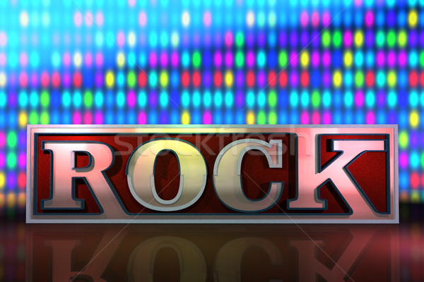 abstract rock background Stock photo © lem