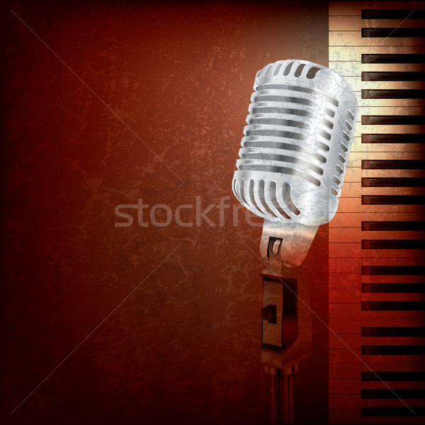 abstract music background Stock photo © lem